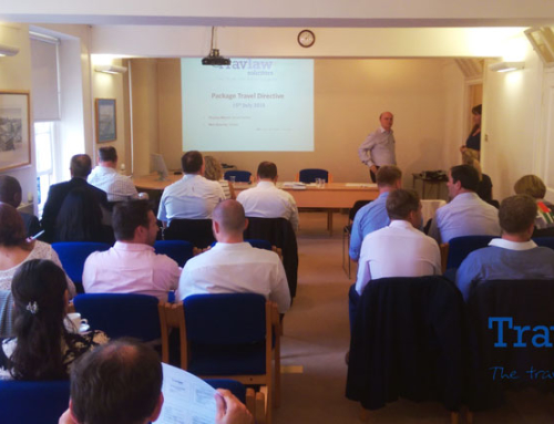 Travlaw's Package Travel Directive Seminars are Well Received